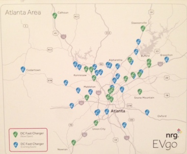 EVGo Atlanta network pic
