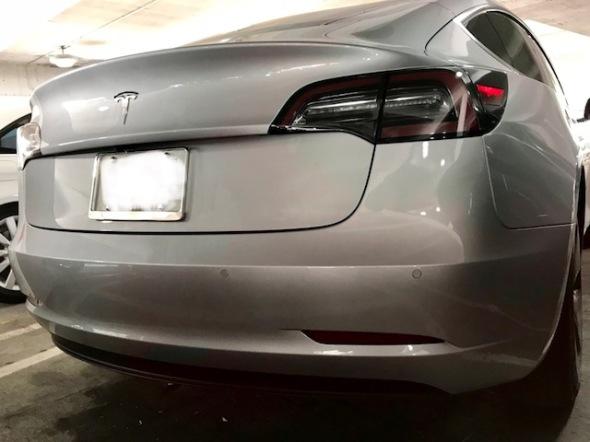 Model 3 rear 11262017