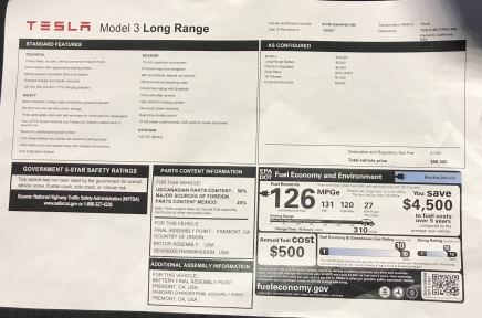 Tesla Model 3 Four Day Test Drive Review Atlanta